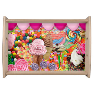 Candy Sweet Sixteen Ice Cream Serving Tray