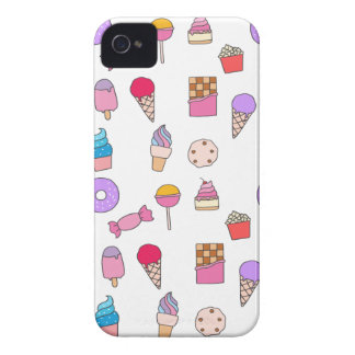 Candy, sweets and cake Case-Mate iPhone 4 case