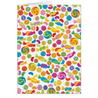 Candy Sweets Card