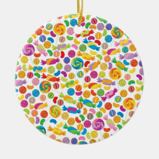 Candy Sweets Christmas Ornament