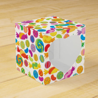 Candy Sweets Heart Window Favour Box