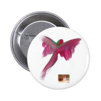 Candy Waters Autism Artist 6 Cm Round Badge