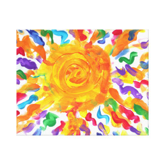 Candy Waters Autism Artist Gallery Wrap Canvas