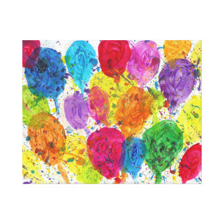 Candy Waters Autism Artist Stretched Canvas Prints