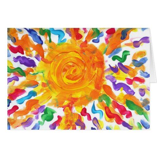 Candy Waters Autism Artist Greeting Card!!