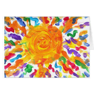 Candy Waters Autism Artist Greeting Card!! Card