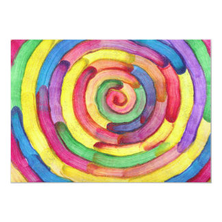 Candy Waters Autism Artist 13 Cm X 18 Cm Invitation Card