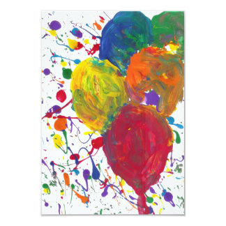 Candy Waters Autism Artist 9 Cm X 13 Cm Invitation Card
