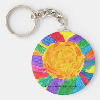 Candy Waters Autism Artist Key Ring