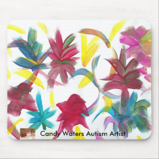 Candy Waters Autism Artist Mouse Mat