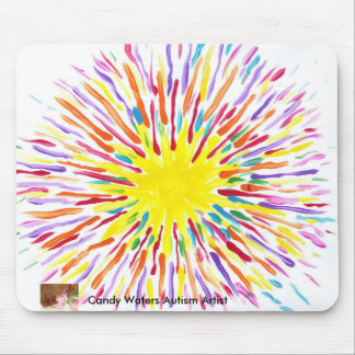 Candy Waters Autism Artist Mousepad