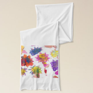 Candy Waters Autism Artist Painting Scarf