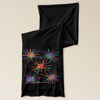 Candy Waters Autism Artist Scarf