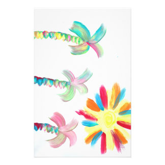 Candy Waters Autism Artist Stationery