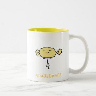 CandyHead Bliss Yellow Mug