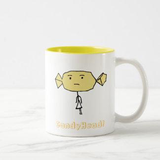 CandyHead hmmm Mug Yellow