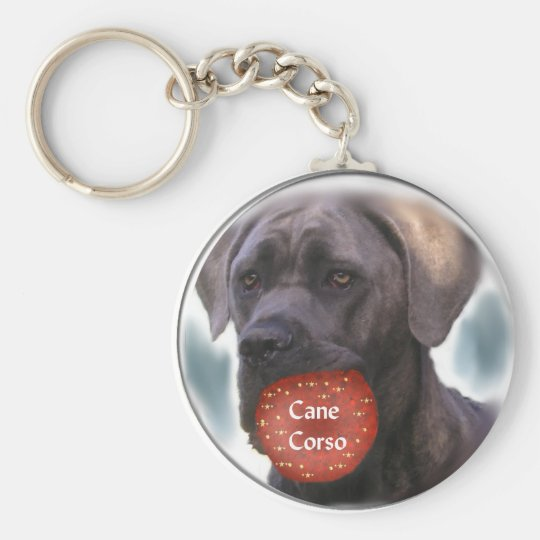 Cane Corso Christmas Gifts Key Ring