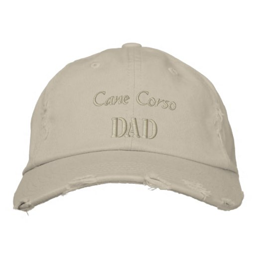 Cane Corso Dad Gifts. Embroidered Hat