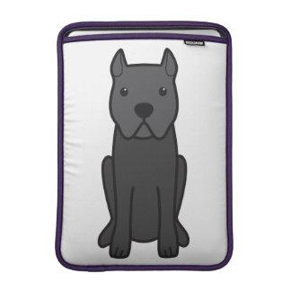 Cane Corso Dog Cartoon MacBook Sleeve