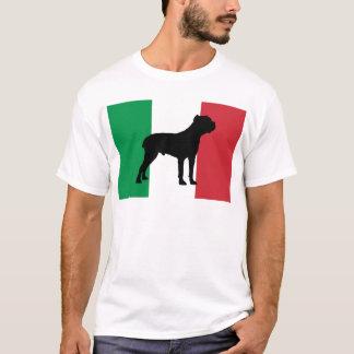 cane corso silhouette flag T-Shirt