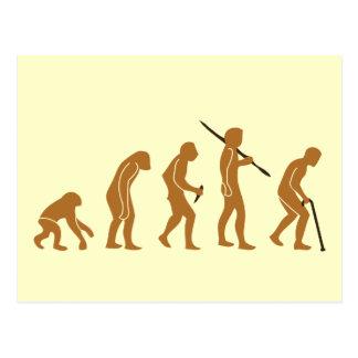 Cane Evolution Postcard