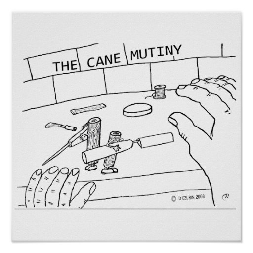 Cane Mutiny Poster