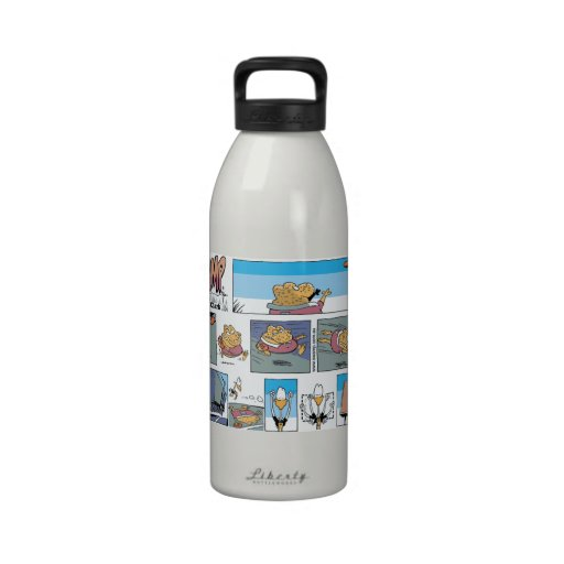 Cane Toad Footy Try Reusable Water Bottle