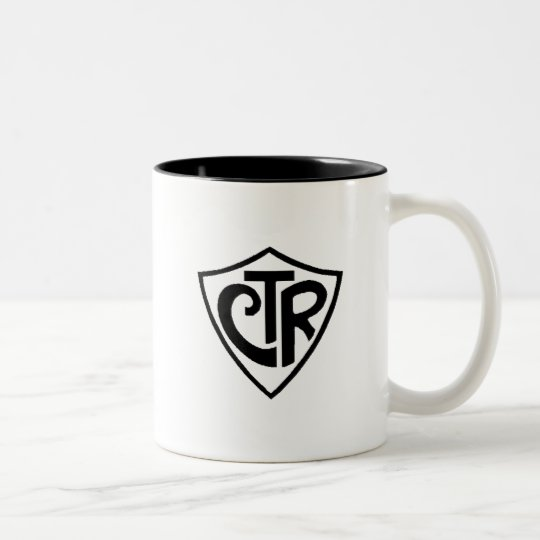 Caneca CTR Two-Tone Coffee Mug