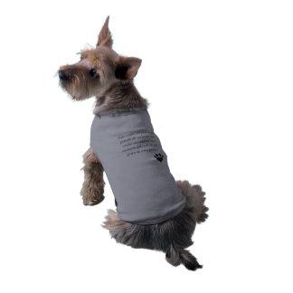 Canelada t-shirt Without Mangos - Canine Sleeveless Dog Shirt