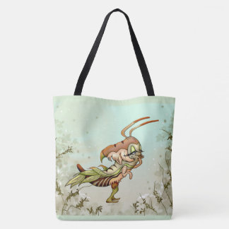 CANELLE ALIEN AllOver-Print Tote Bag Large