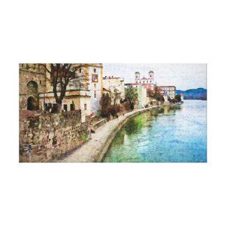 Canevas Print of Passau, Germany