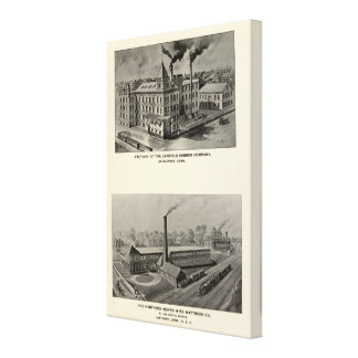 Canfield Rubber Co Canvas Print