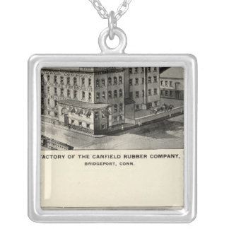 Canfield Rubber Co Silver Plated Necklace