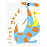 canguru flyer design