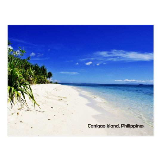 Canigao Island Postcard