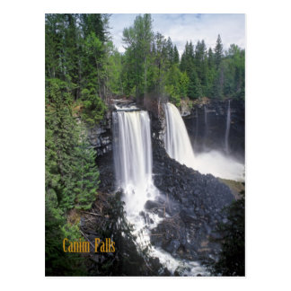 Canim falls,BC,Canada Postcard
