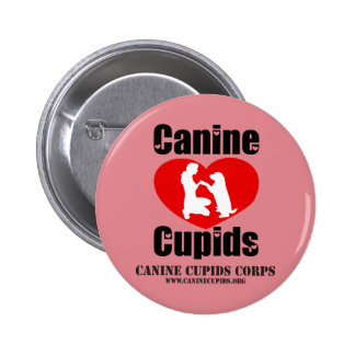 Canine Cupids Button