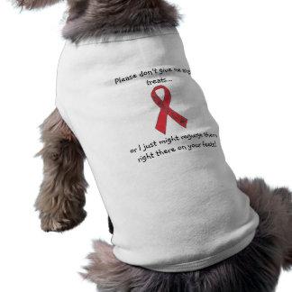 "Canine Megaesophagus Support Ribbon ""Feets"" Shirt"