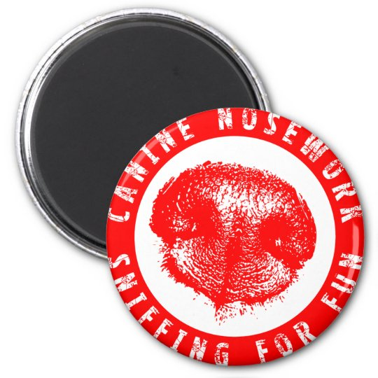 Canine Nosework, Sniffing for Fun Magnet