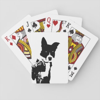 Canine Photographer Playing Cards