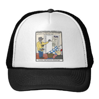Canine Real Estate Sales Funny Gifts & Tees Cap