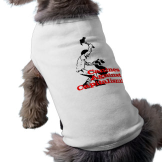 Canines Against Capitalism Dog Tee