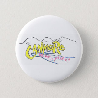 canmore logo 6 cm round badge