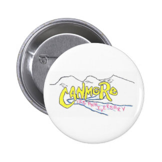 canmore logo 6 cm round badge