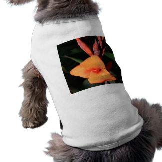 Canna Lily Flower dog shirt