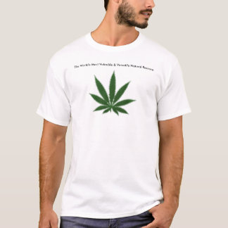 cannabis-leaf_trans T-Shirt