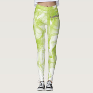 Cannatopia Green Smoke Leggings