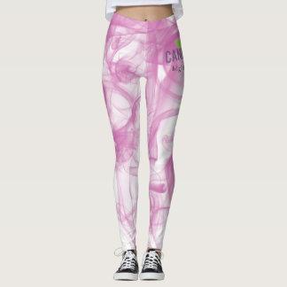 Cannatopia Pink Smoke Leggings