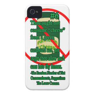 Canned Cheese Case-Mate iPhone 4 Cases