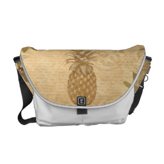Canned fruit pineapple commuter bags
